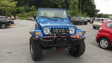 2003 Jeep Wrangler 4WD Rubicon for sale 101026012