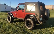 2003 Jeep Wrangler 4WD X for sale 101026110