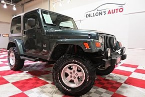 2003 Jeep Wrangler 4WD Sahara for sale 101039874