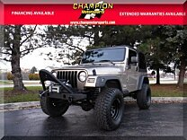 2003 Jeep Wrangler 4WD Sport for sale 101057331