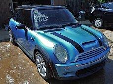 2003 MINI Cooper S Hardtop for sale 100973026