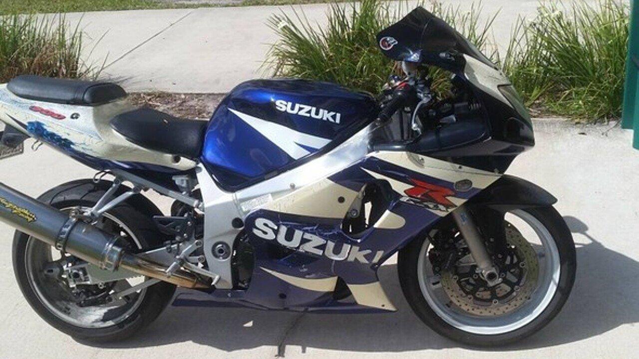 2003 Suzuki GSX-R600 for sale 200544324