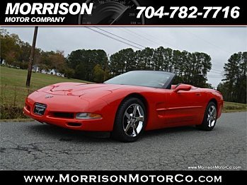 2003 chevrolet Corvette Convertible for sale 100799053