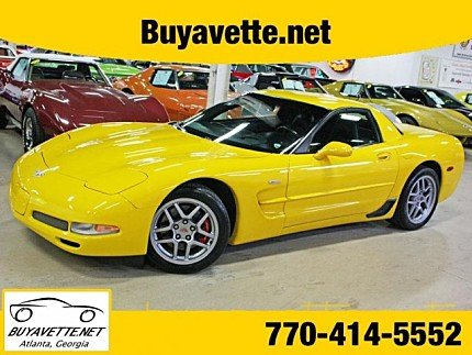 2003 chevrolet Corvette Z06 Coupe for sale 100980730
