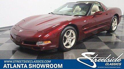 2003 chevrolet Corvette Coupe for sale 101018415