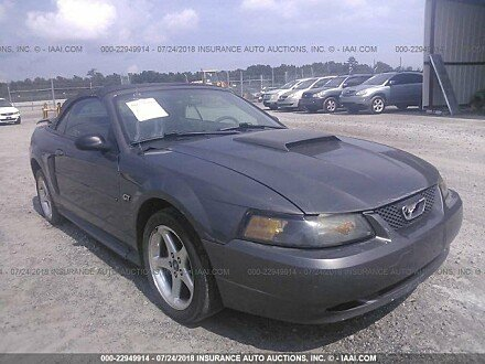 2003 ford Mustang GT Convertible for sale 101016092