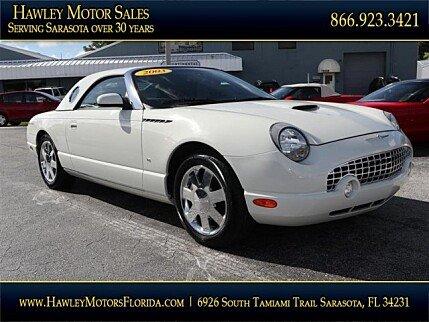 2003 ford Thunderbird for sale 101038219