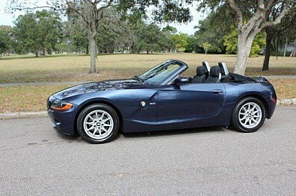 2004 BMW Z4 2.5i Roadster for sale 100839280