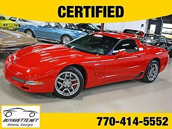 2004 Chevrolet Corvette Z06 Coupe for sale 100757339