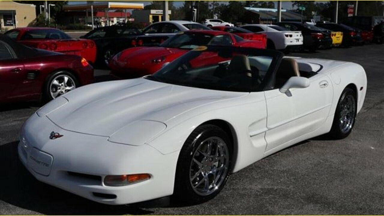 2004 Chevrolet Corvette Convertible for sale 100944146