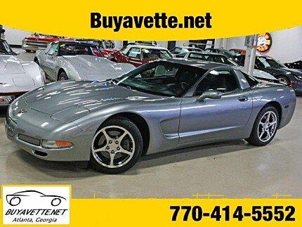 2004 Chevrolet Corvette Coupe for sale 100895524
