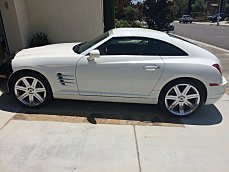 2004 Chrysler Crossfire Coupe for sale 100787096