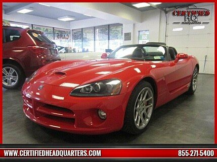 2004 Dodge Viper SRT-10 Convertible for sale 100886049