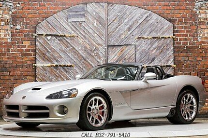 2004 Dodge Viper SRT-10 Convertible for sale 100887020