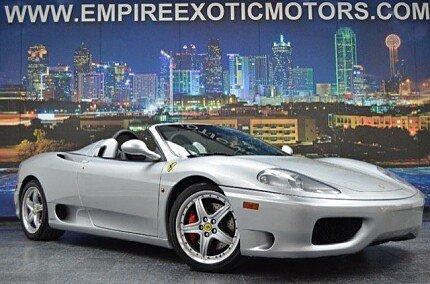 2004 Ferrari 360 Spider for sale 100724907