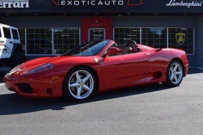 2004 Ferrari 360 Spider for sale 100811985
