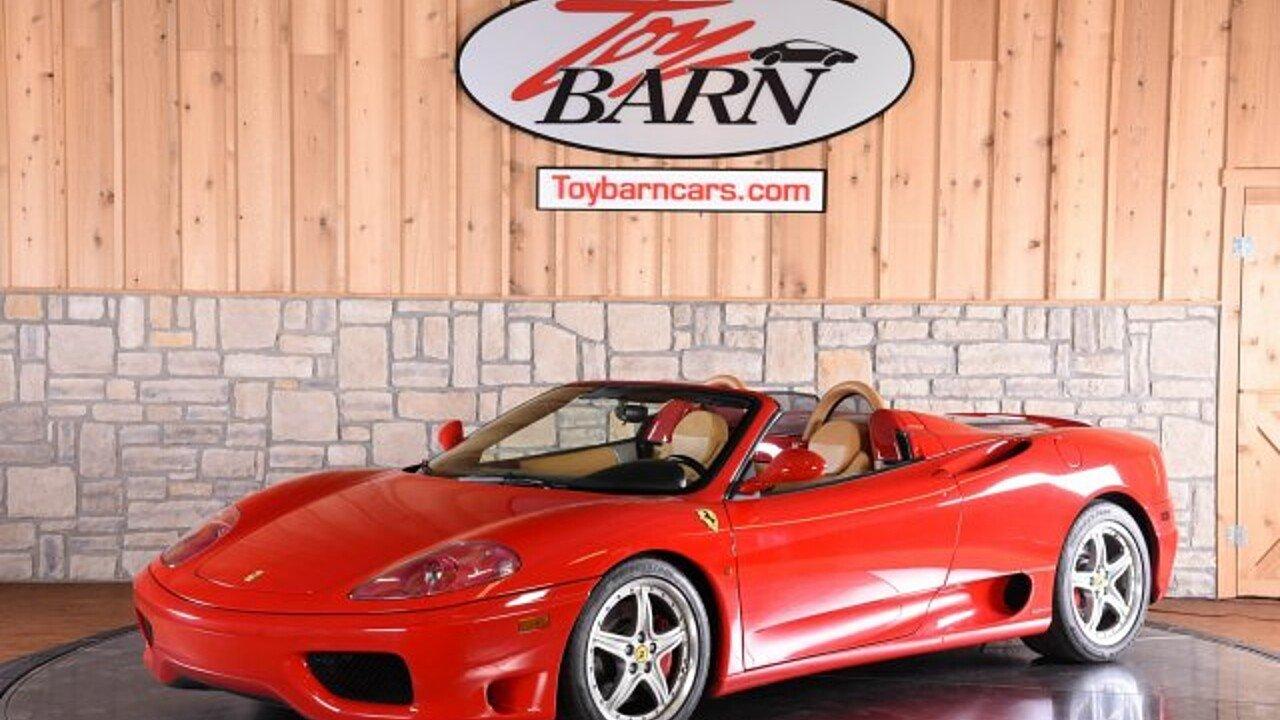 2004 Ferrari 360 Spider for sale 100982890