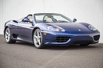 2004 Ferrari 360 Spider for sale 100996071