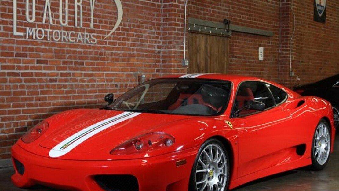 2004 Ferrari 360 Challenge Stradale for sale 101008464