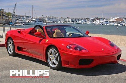 2004 Ferrari 360 Spider for sale 100985923