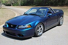 2004 Ford Mustang Cobra Convertible for sale 100915117
