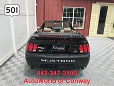 2004 Ford Mustang GT Convertible for sale 101010044