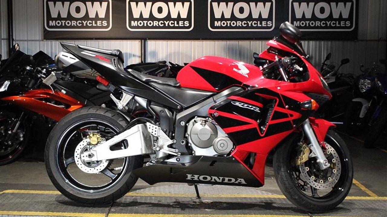 2004 Honda CBR600RR for sale 200523339