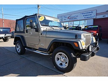 2004 Jeep Wrangler 4WD for sale 100852264