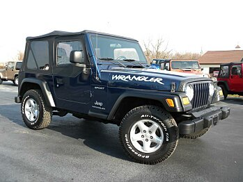 2004 Jeep Wrangler for sale 100727629