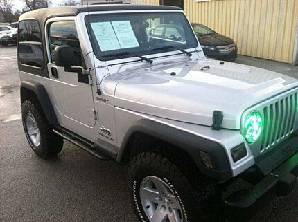 2004 Jeep Wrangler 4WD for sale 100956813
