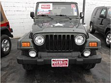 2004 Jeep Wrangler 4WD X for sale 100961190
