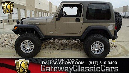 2004 Jeep Wrangler 4WD Rubicon for sale 100964867