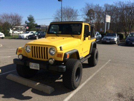 2004 Jeep Wrangler 4WD for sale 100967833