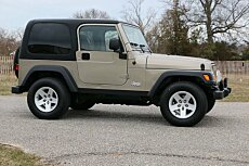 2004 Jeep Wrangler 4WD Rubicon for sale 100969744