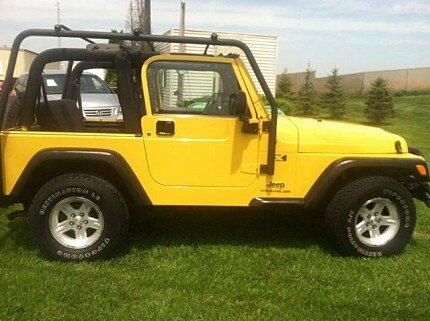 2004 Jeep Wrangler 4WD X for sale 100970877