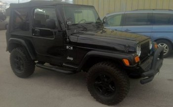 2004 Jeep Wrangler 4WD X for sale 100975910