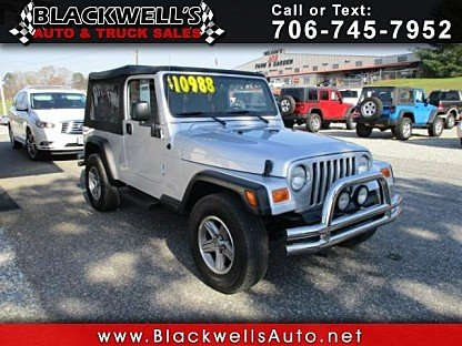 2004 Jeep Wrangler 4WD for sale 100976769
