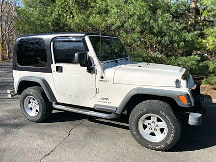2004 Jeep Wrangler for sale 100983227