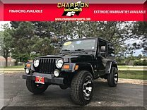 2004 Jeep Wrangler 4WD Sahara for sale 100992269