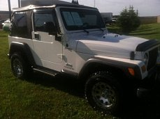 2004 Jeep Wrangler 4WD for sale 100993979
