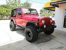 2004 Jeep Wrangler 4WD for sale 100994464