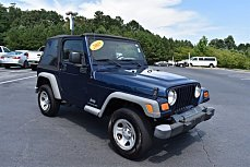 2004 Jeep Wrangler 4WD X for sale 101001142