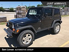 2004 Jeep Wrangler 4WD X for sale 101002831
