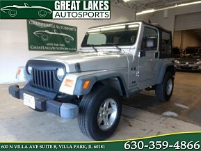 2004 Jeep Wrangler 4WD X for sale 101058594
