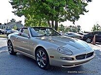2004 Maserati Spyder for sale 100984121