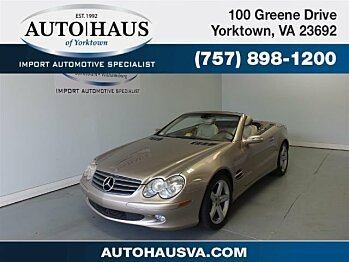 2004 Mercedes-Benz SL500 for sale 100886880