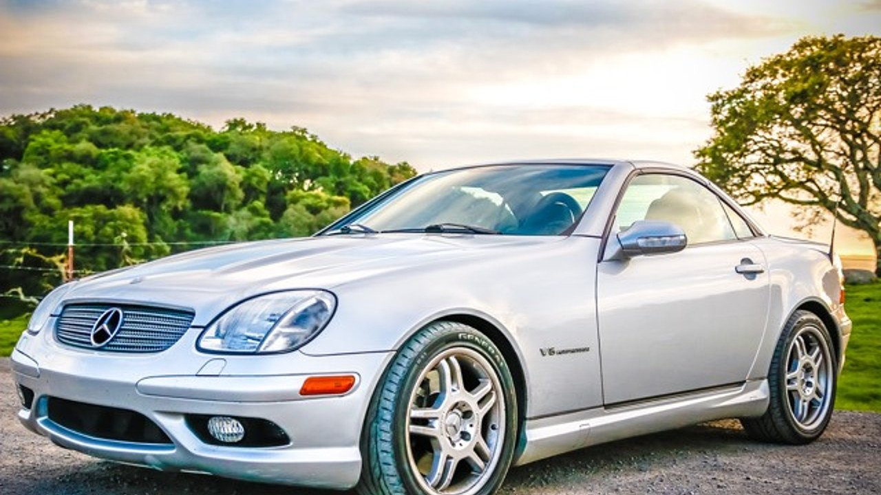 2004 mercedes benz slk32 amg for sale near windsor california 95492 classics on autotrader. Black Bedroom Furniture Sets. Home Design Ideas