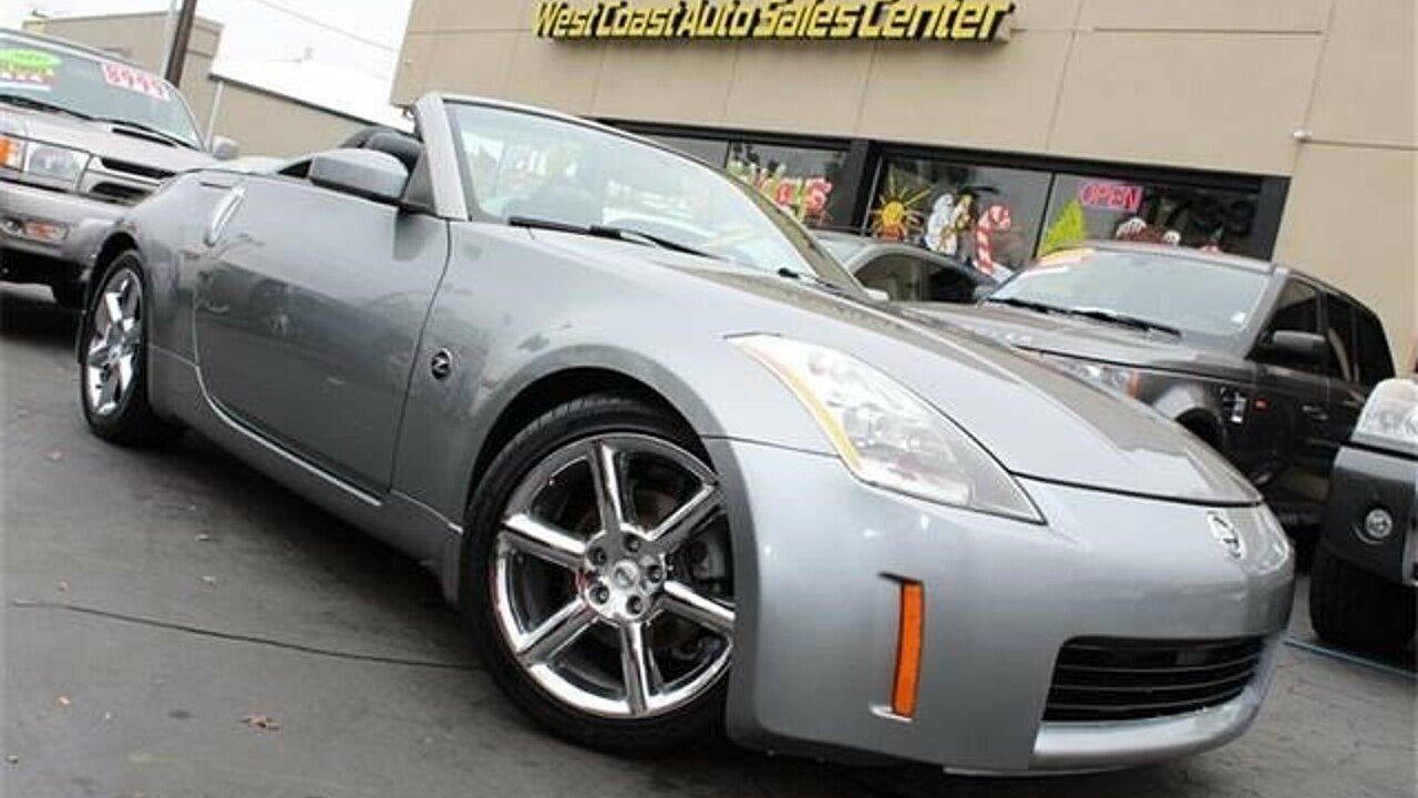 2004 Nissan 350Z Roadster for sale 100839577