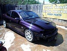 2004 Pontiac GTO for sale 100749636