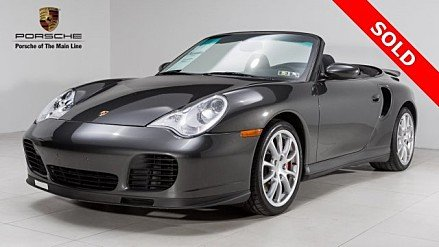 2004 Porsche 911 Turbo Cabriolet for sale 100858232